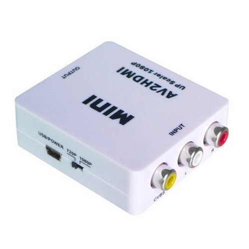 Composite AV to HDMI converter